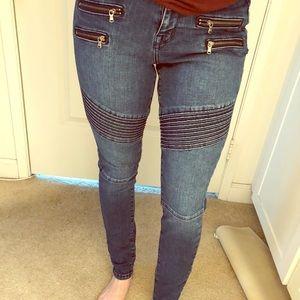 Mossimo High Rise Skinny Jean Jegging Legging Moro